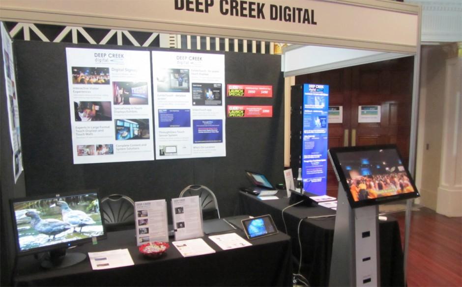 Deep Creek Digital Booth At Click! Digital Expo
