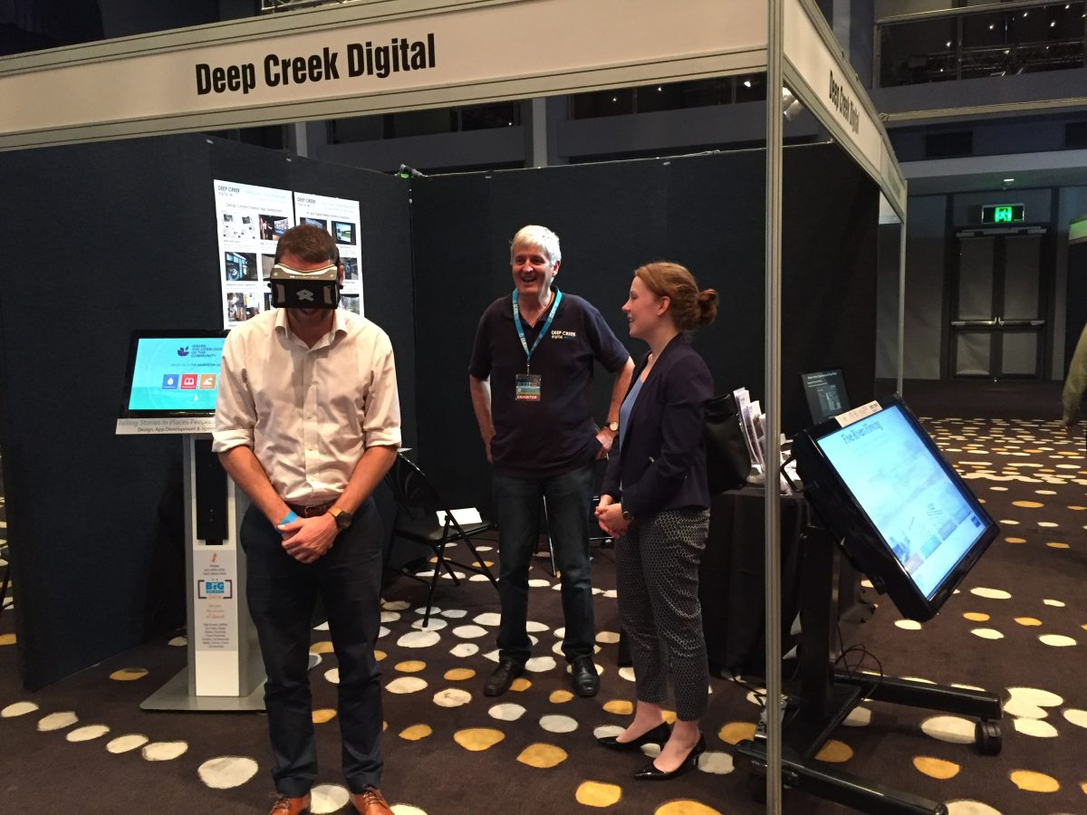 VR at Click Digital Expo
