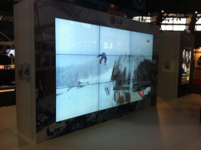 4k Ultra High Definition Video Wall