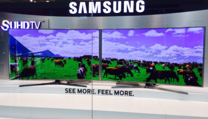 Ultra-wide Video Displays